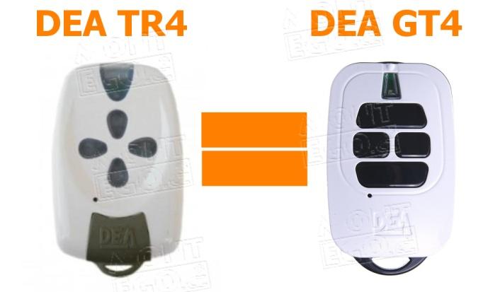 Dea GT4 - náhrada dálkového ovladaÄe Dea TR4