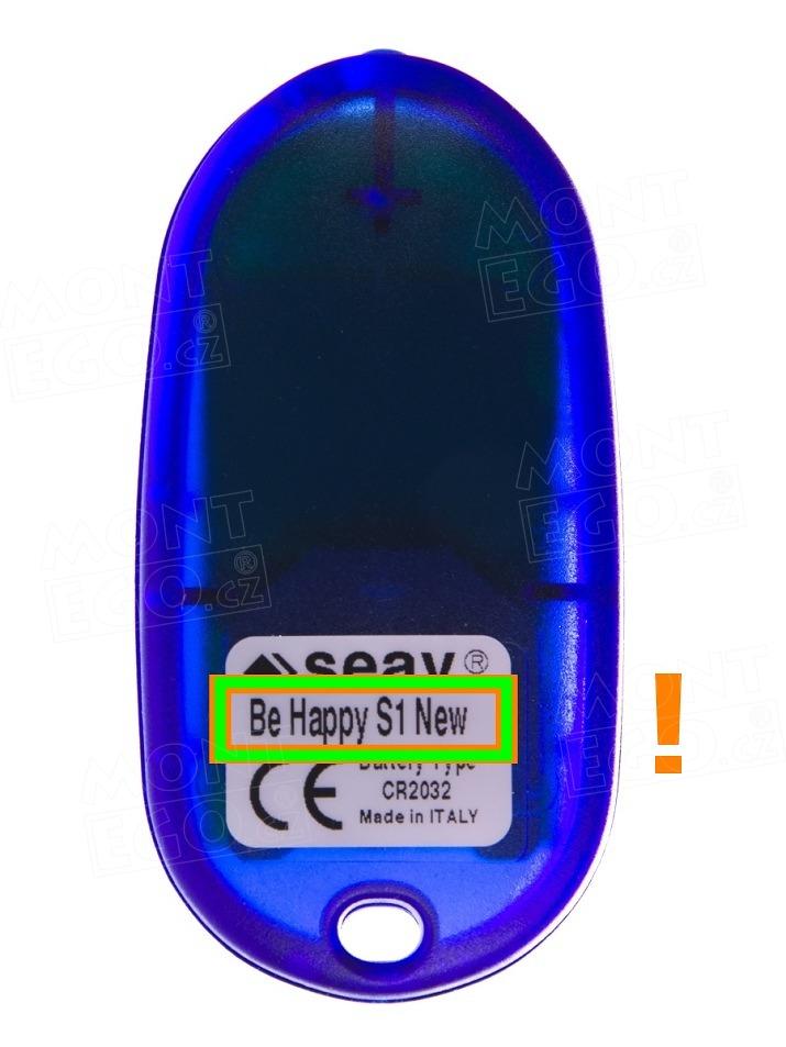 Seav BEHAPPYS1NEW dálkový ovládač