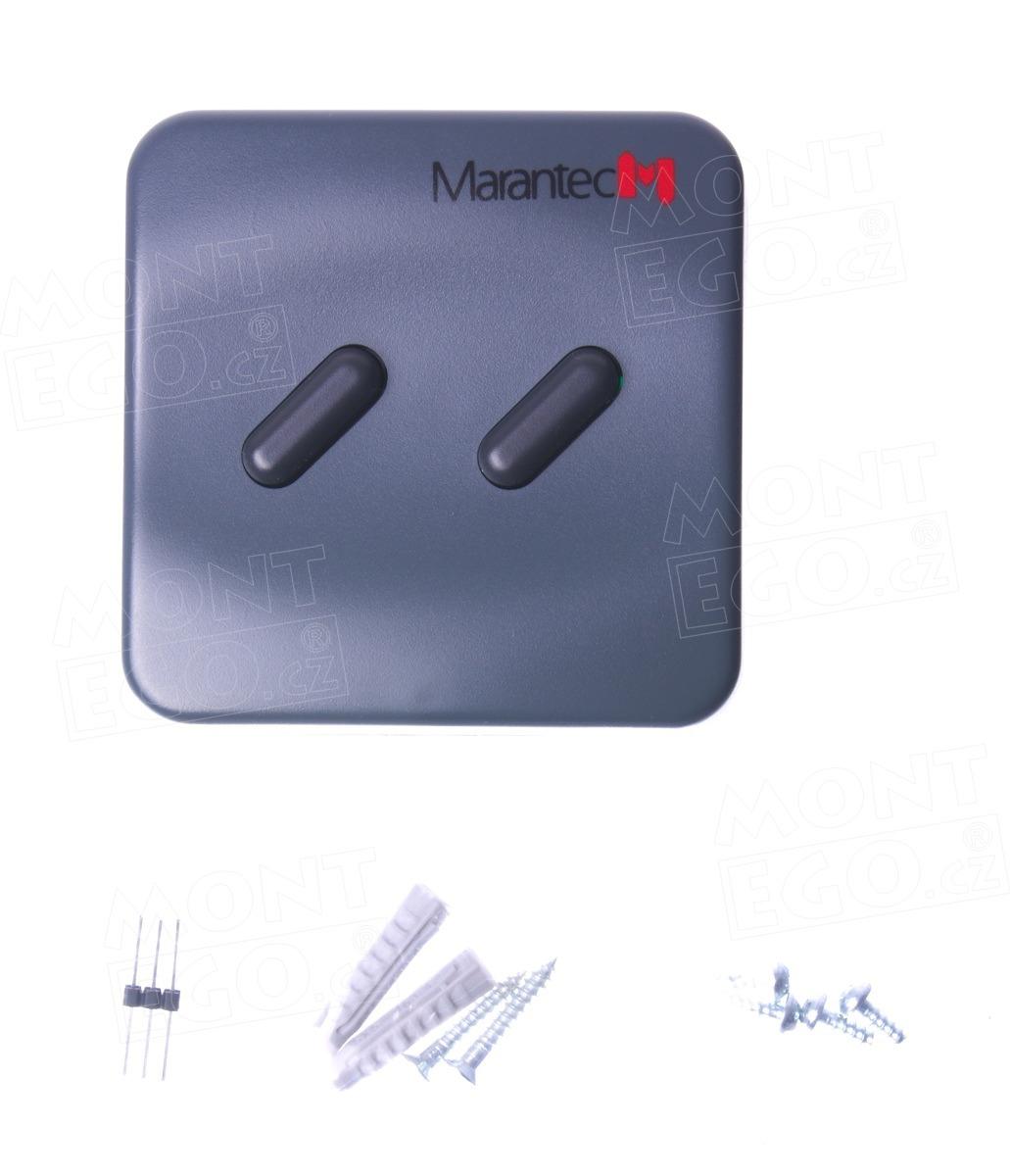 Ovládací bezdrátové tlačítko Marantec Command 131, 868,3 MHz