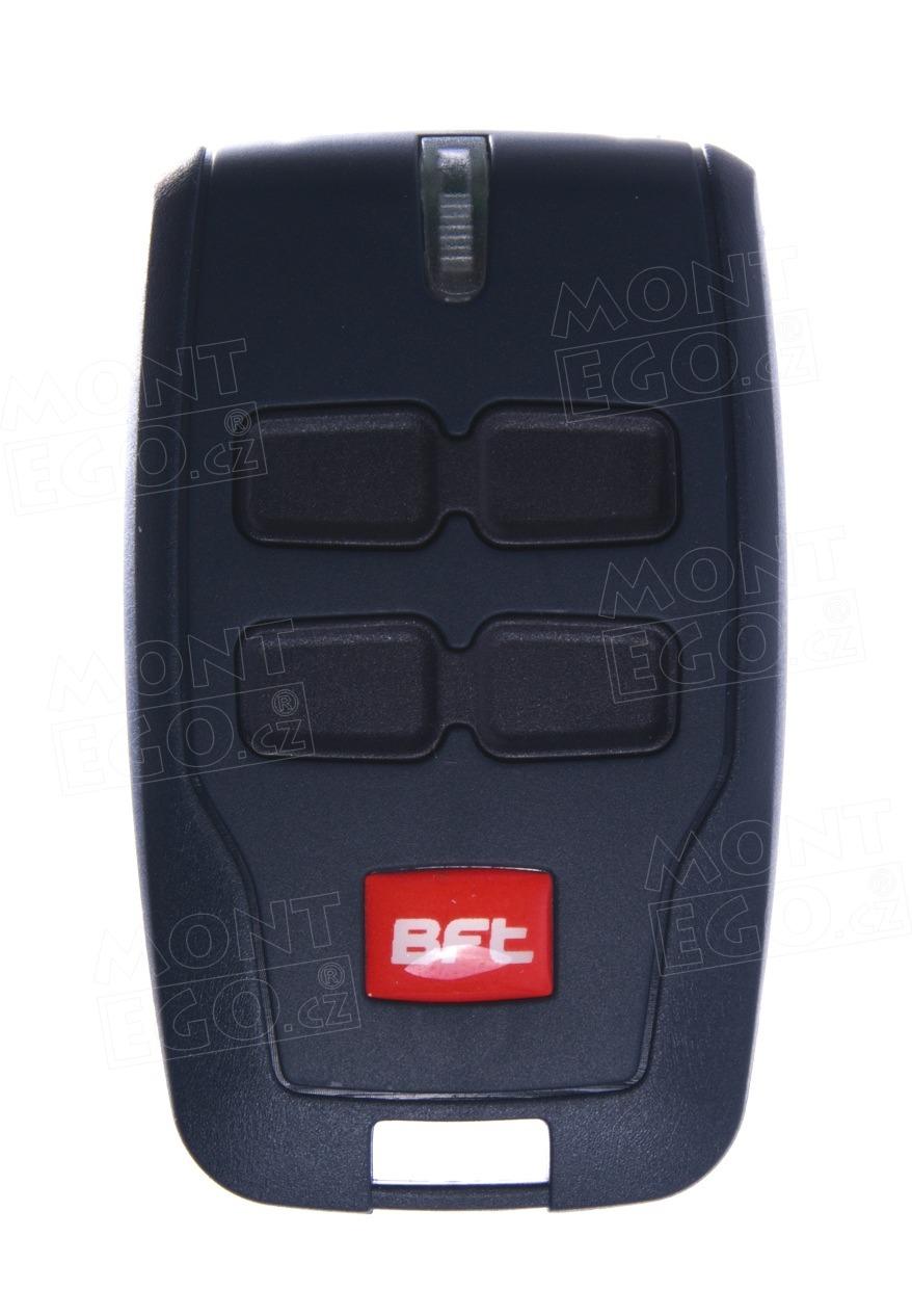 Vysílač pro dálkové ovládání vrat BFT MITTO B4 - 4 kanálový ovládač RCB04 R1