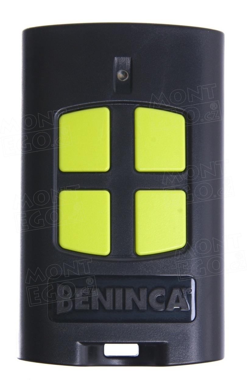 Dálkový ovladač Beninca TO.GO4VA, náhrada za ovládač Beninca TO.GO4WV
