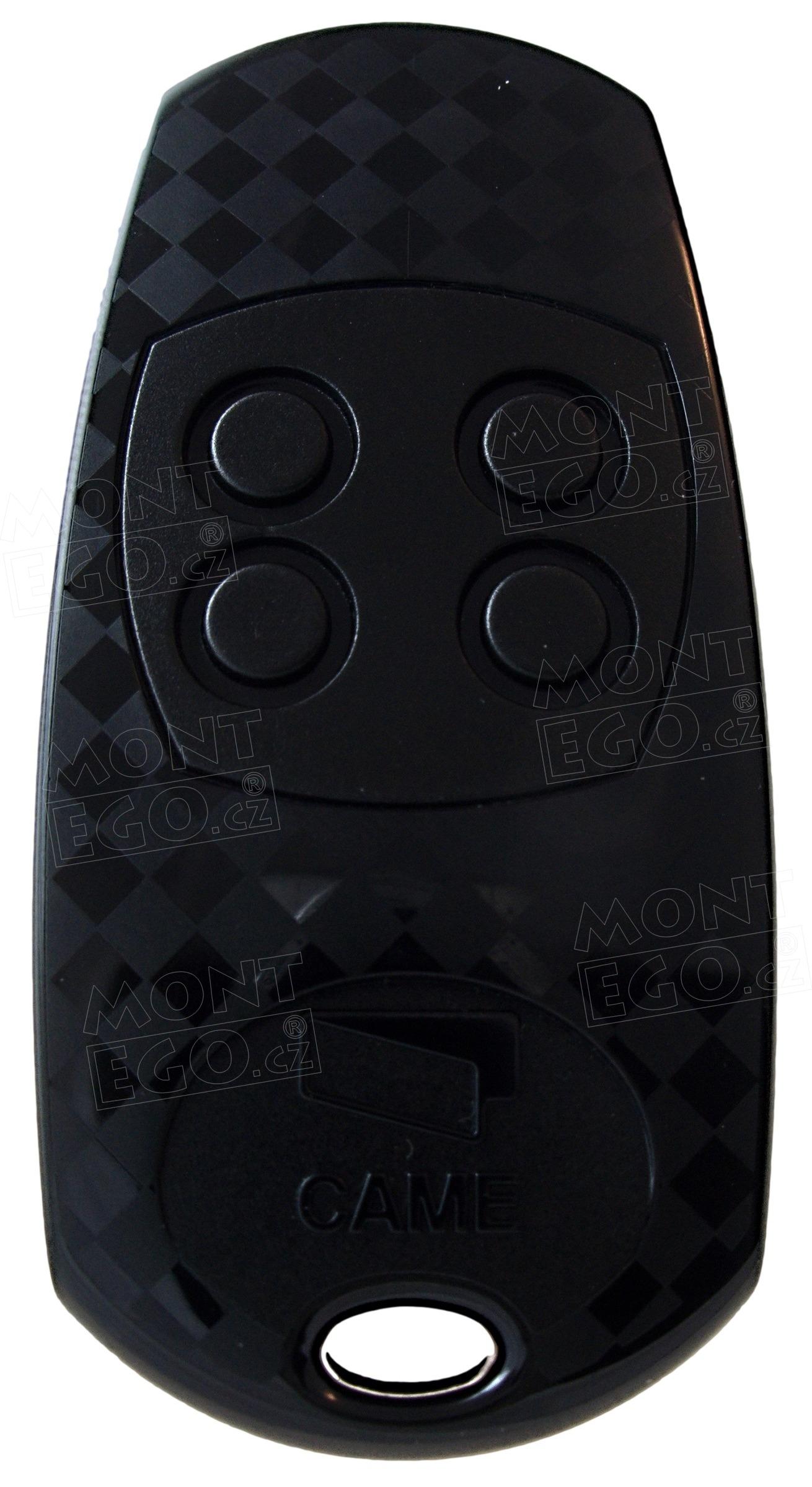 Dálkový čtyřkanálový ovládač vrat Came TOP 434EV, náhrada za TOP-434NA