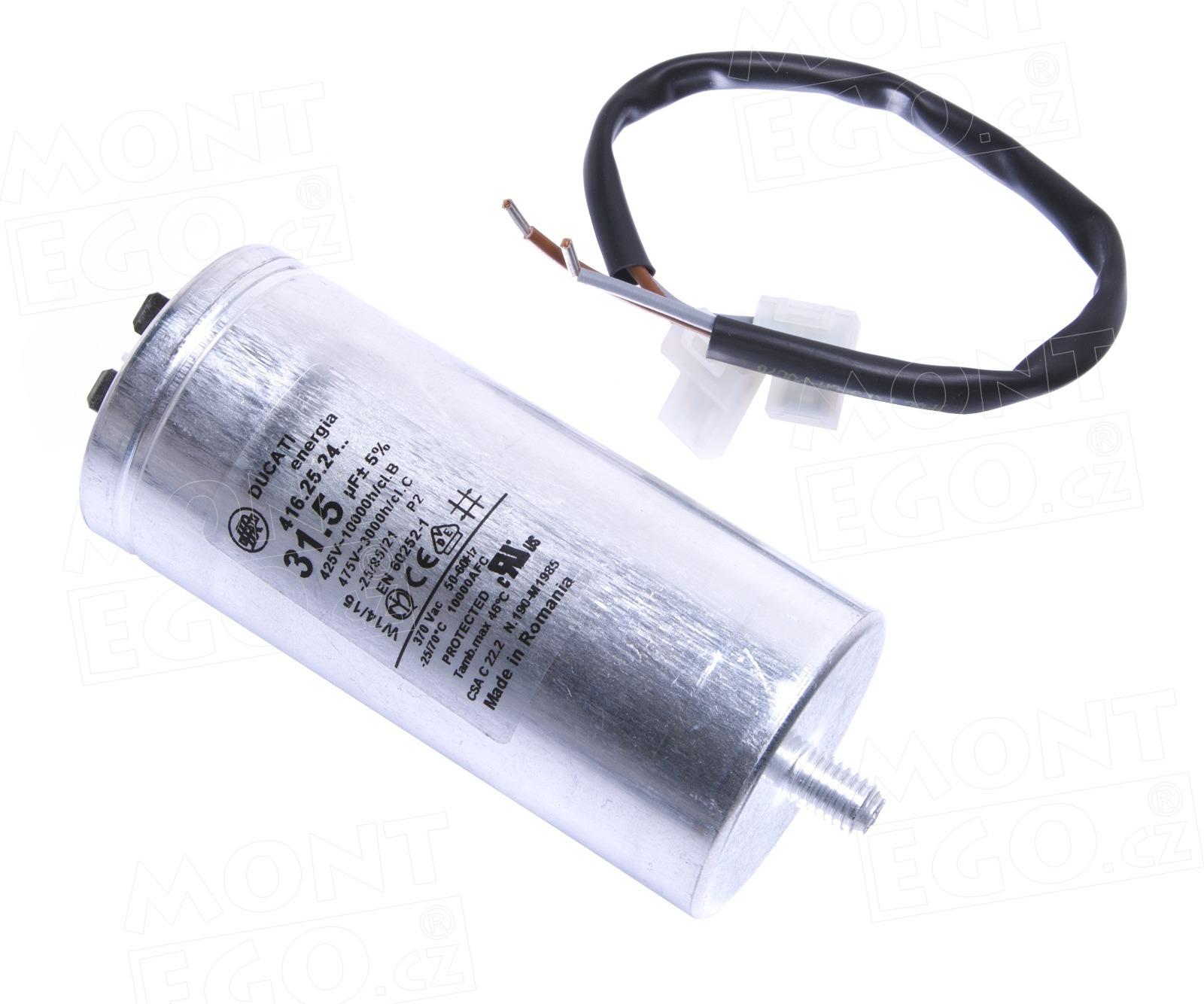 Kondenzátor 31,5 uF/450V k pohonu Came BK-1800 119RIR282