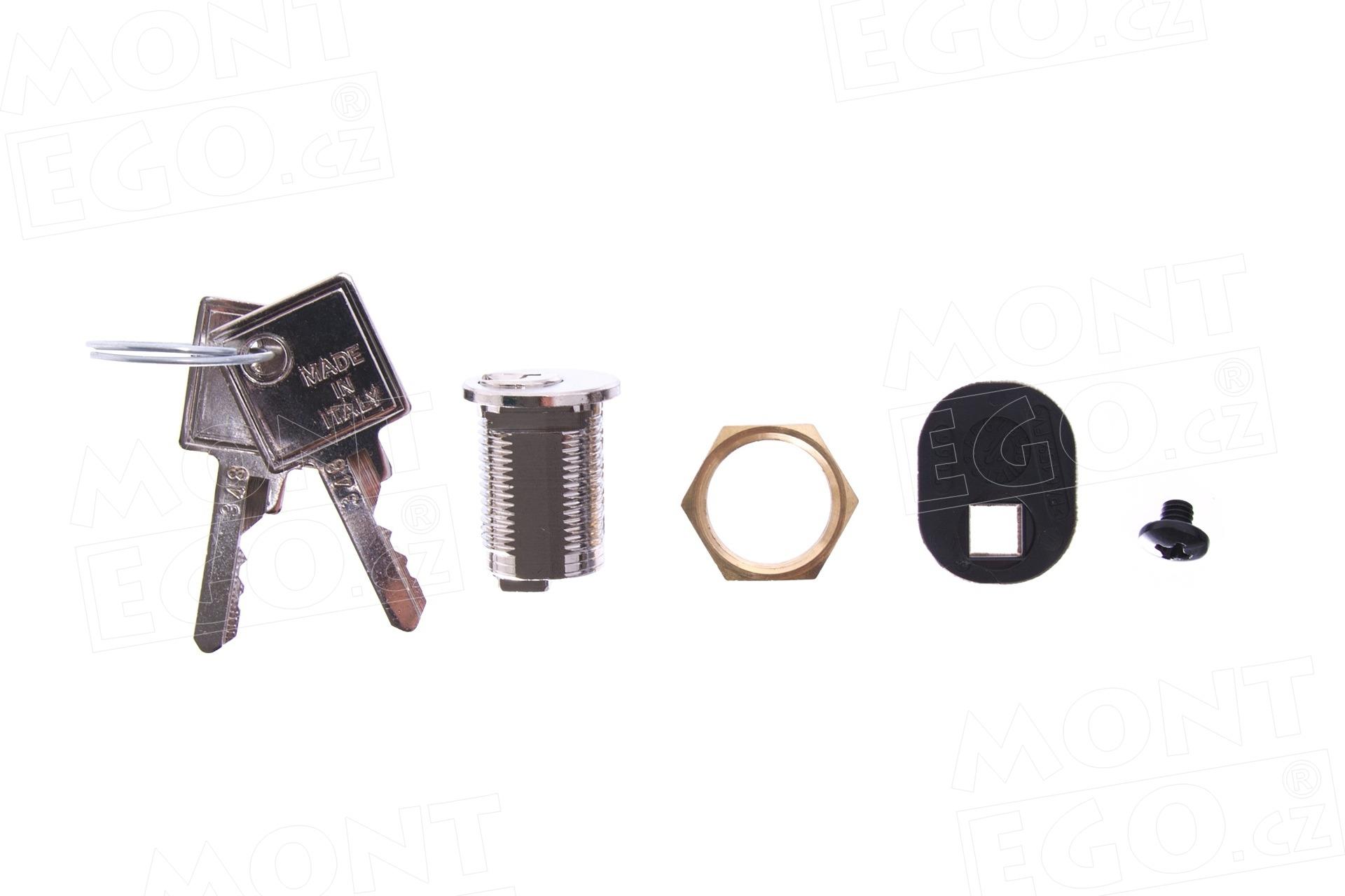 CAME 119RIBX042 zámek a klíče pro odblokování pohonu Came BX-243