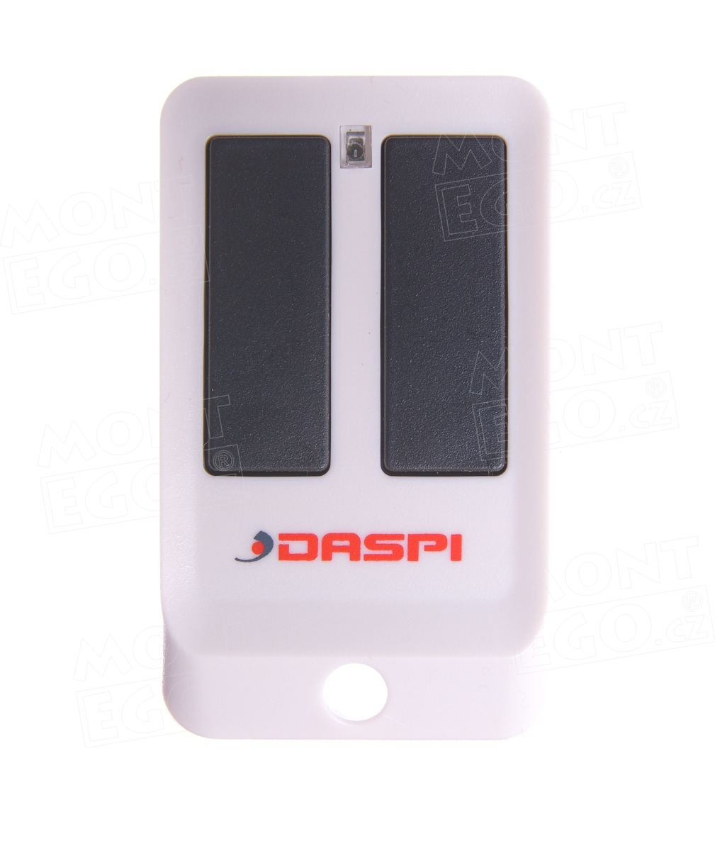 Dálkový ovládač Daspi ZERO 2 RC, dvoukanálový