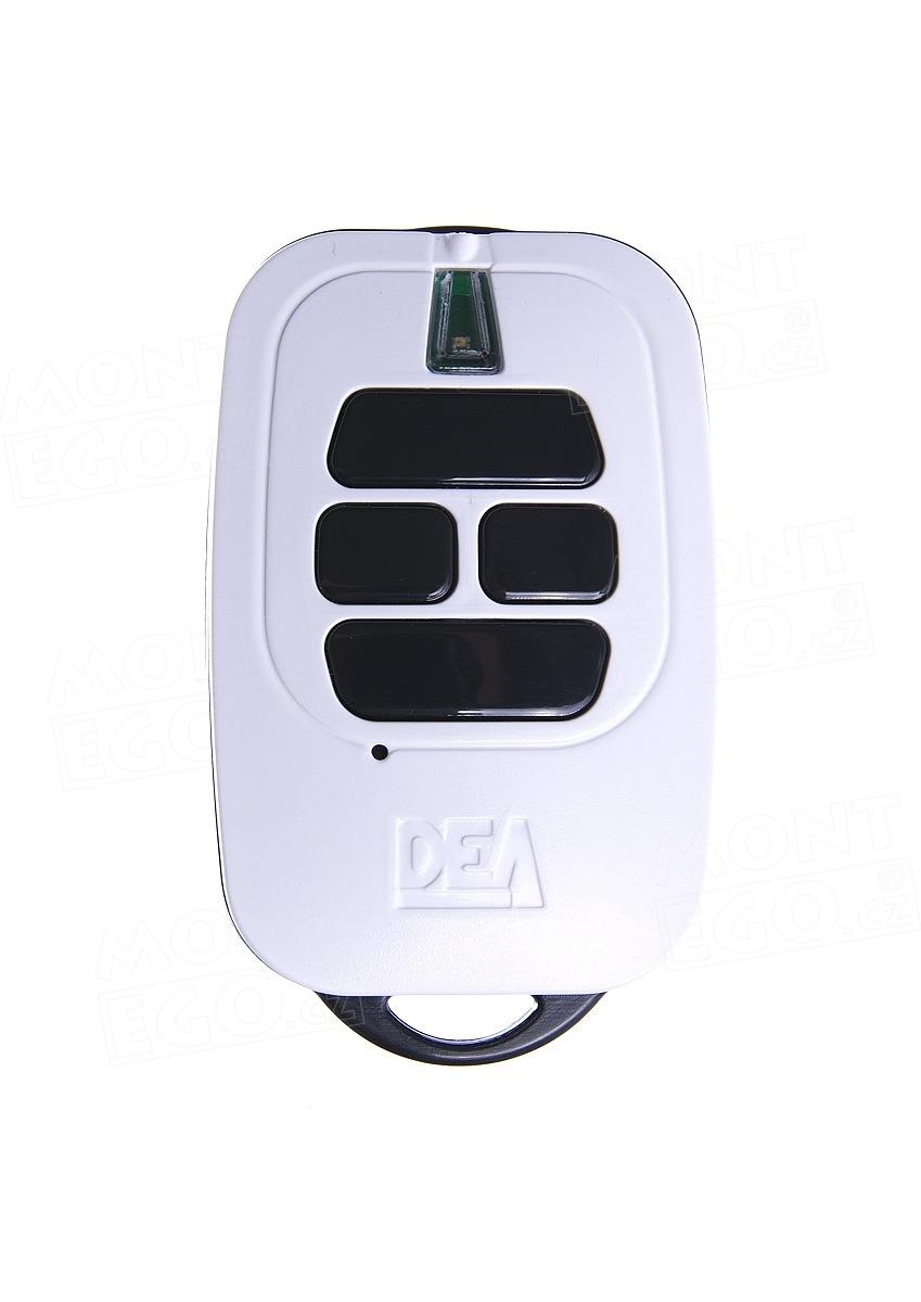 Dálkový ovládač Dea GT4 čtyřkanálový ovládač s plovoucím kódem