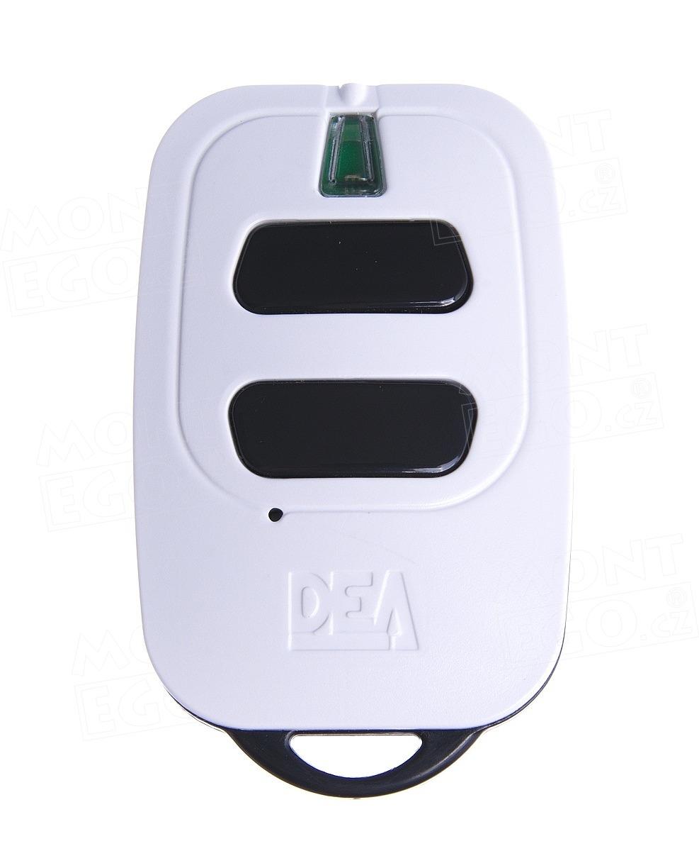 Dálkový ovládač Dea GT2 dvoukanálový ovládač pro pohony DEA s plovoucím kódem