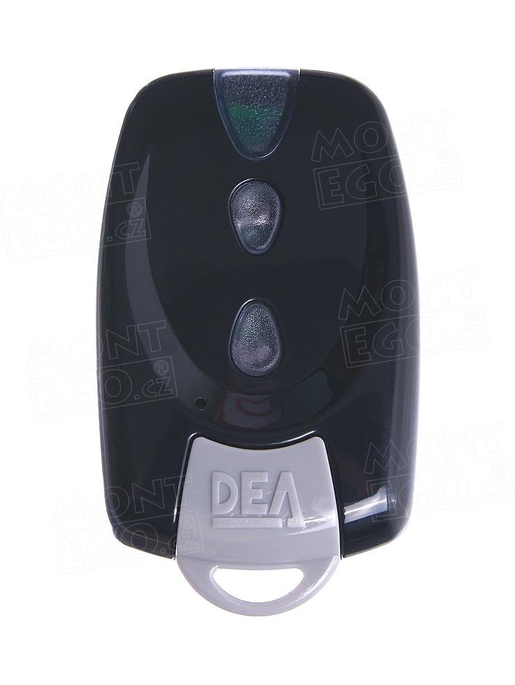 Dálkový ovládač Dea Mio TRN2, dvoukanálový ovládač s plovoucím kódem, černý