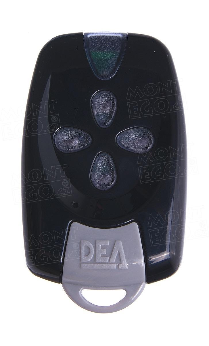 Dálkový ovládač Dea Mio TRN4 čtyřkanálový ovládač s plovoucím kódem, černý