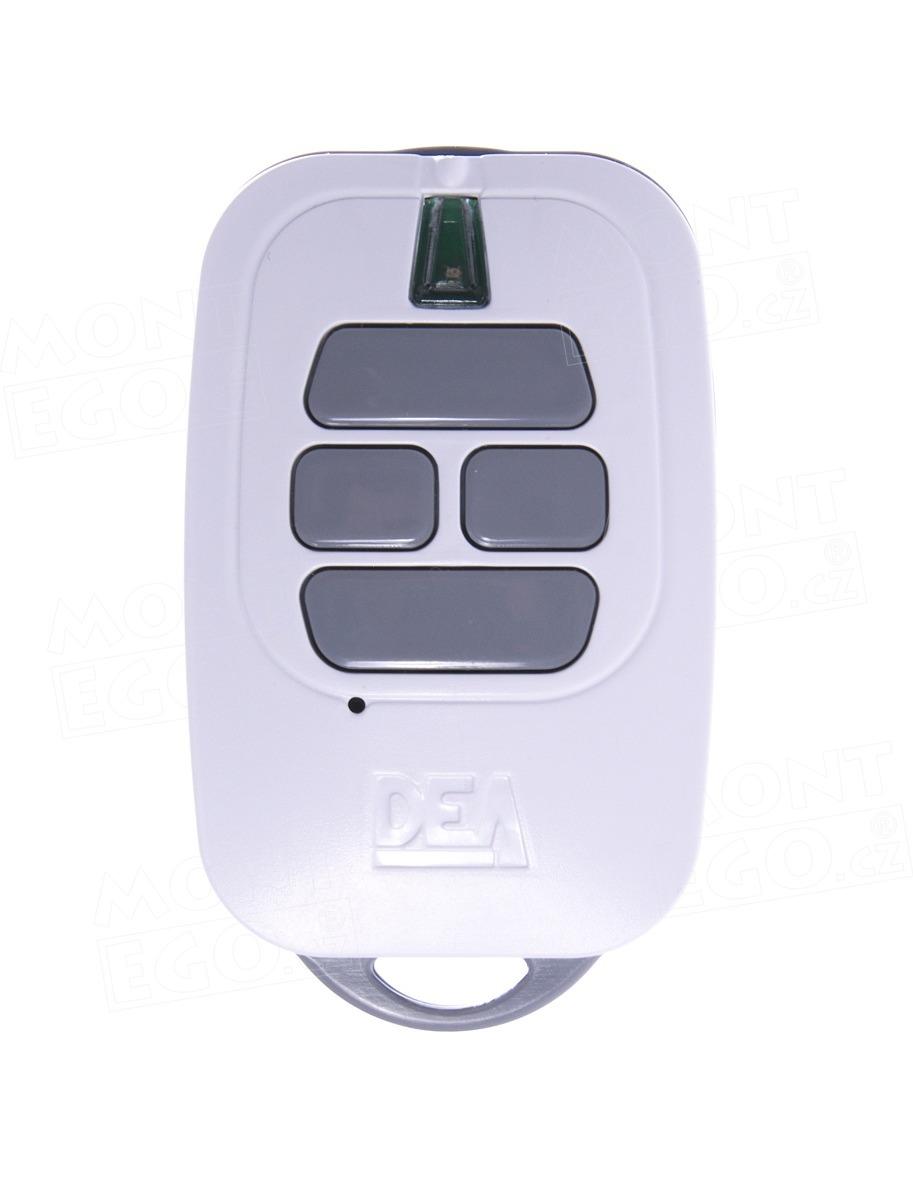 Dálkový ovládač Dea GT4M, čtyřkanálový ovládač pro pohony DEA s plovoucím i pevným kódem