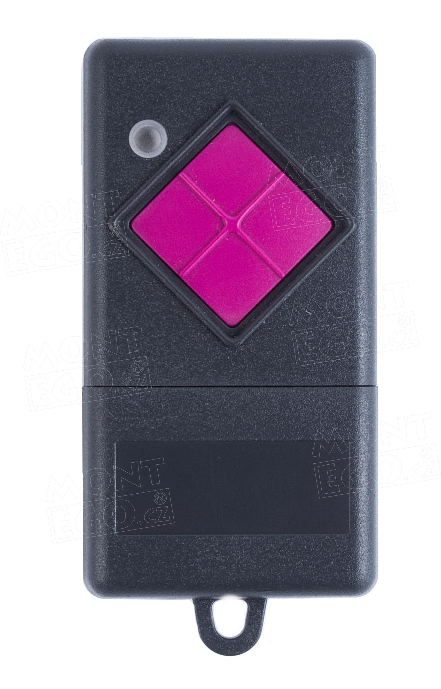 Dálkový ovládač Becker 1K433, 1 kanálový ovládač vrat
