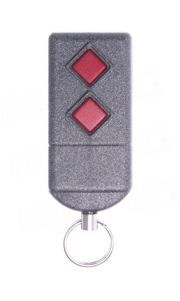 Dálkový ovladač Dickert S5-433A2L00, 2-kanálový ovladač, 433,92 MHz
