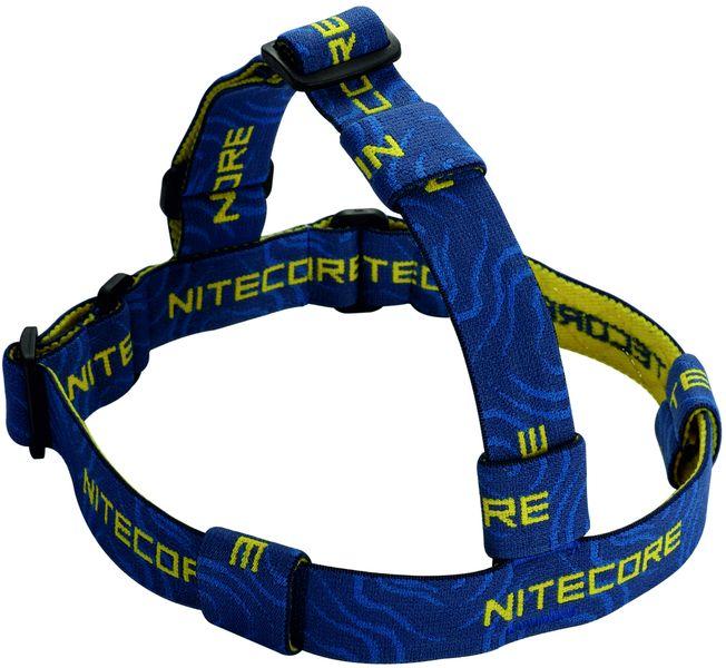 Hlavový popruh Nitecore Head pro použití kapesní svítilny jako čelovky