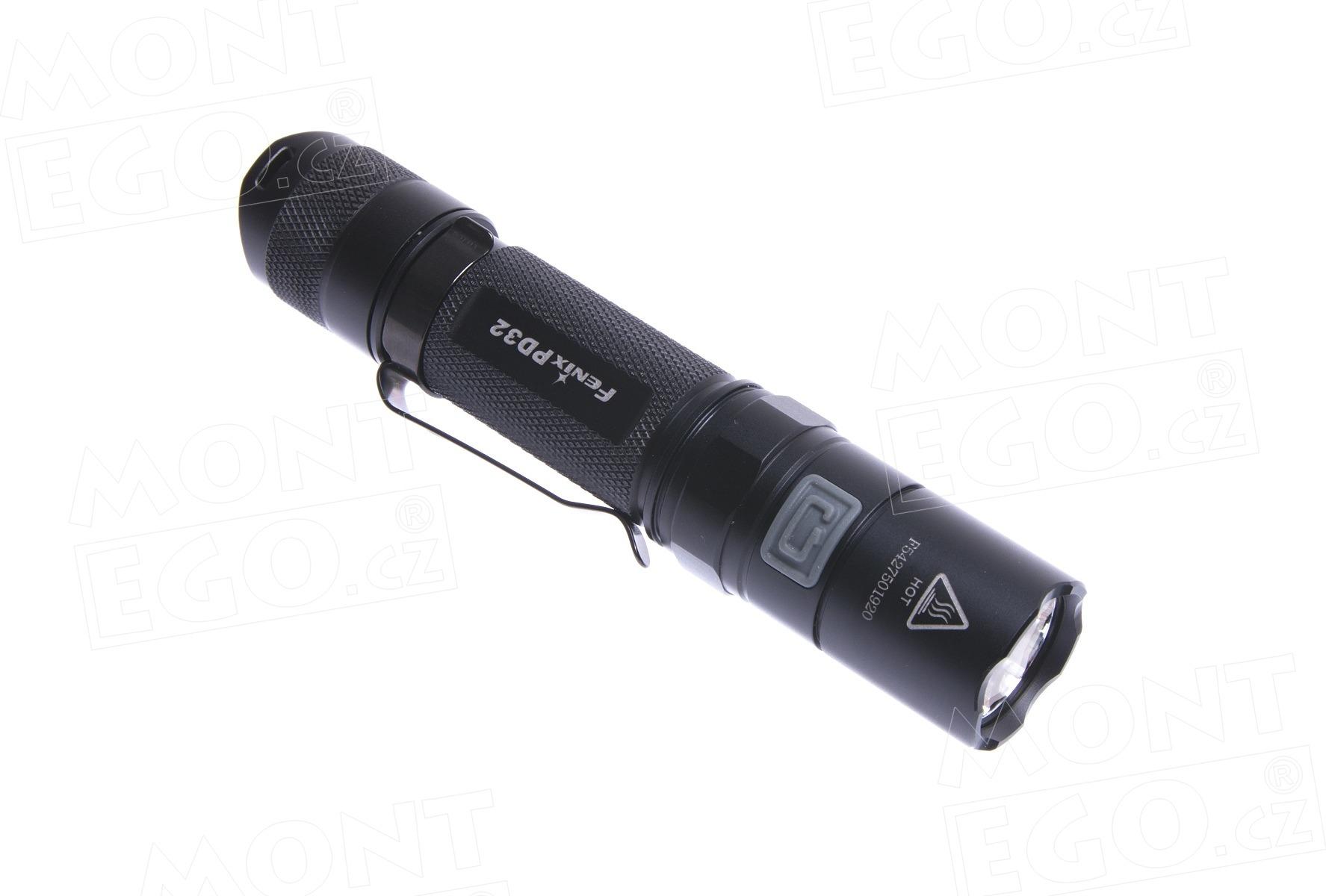 LED baterka Fenix PD32 Premium G2, svítilna s 340 lumeny