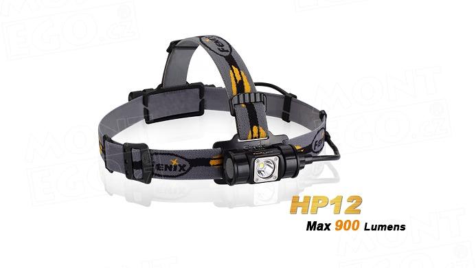 LED čelovka Fenix HP12 čelová svítilna 900 lumenů