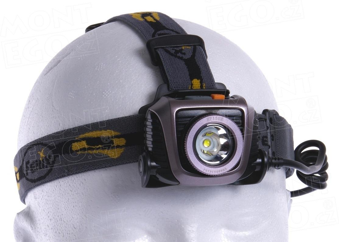 LED čelovka Fenix HP15 UE čelová svítilna 900 lumenů na 4 x AA baterie