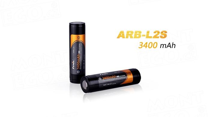 Nabíjecí Li-Ion akumulátor 18650 Fenix ARB-L2S, 3400 mAh