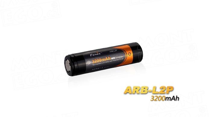 Nabíjecí baterie Fenix 18650 Fenix ARB-L2P 3200 mAh Li-Ion akumulátor