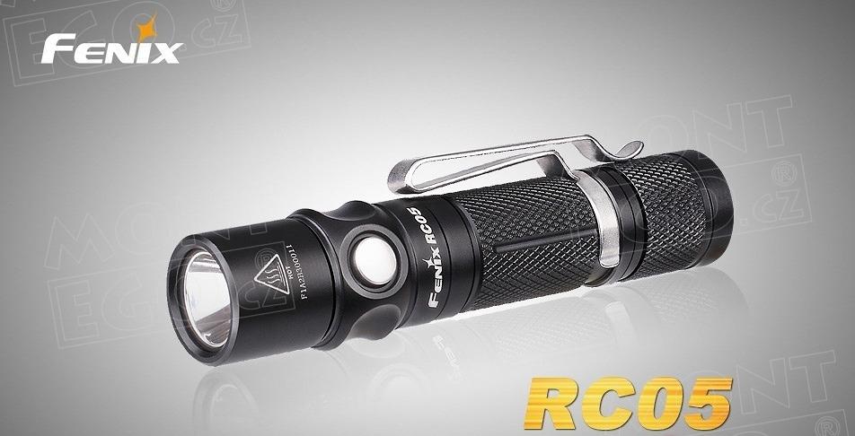 Fenix RC-05, Led svítilna, malá nabíjecí baterka s 300 lumeny