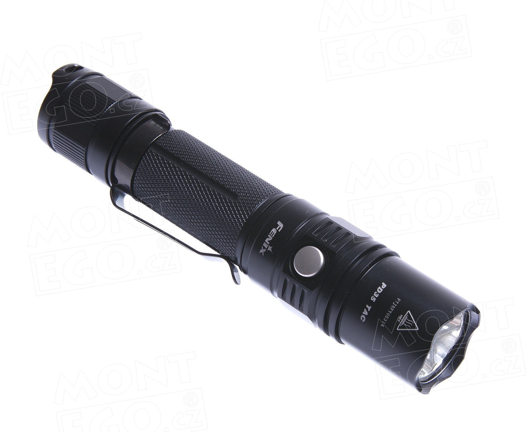 Led svítilna Fenix PD35 TAC, taktická baterka s 1000 lumeny