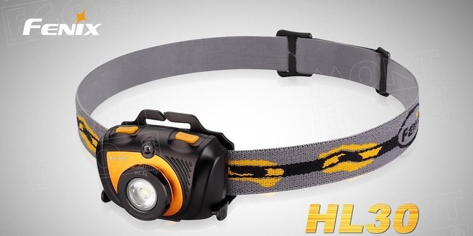 Fenix HL23, čelová svítilna 150 lumenů, 1 tužková AA baterie