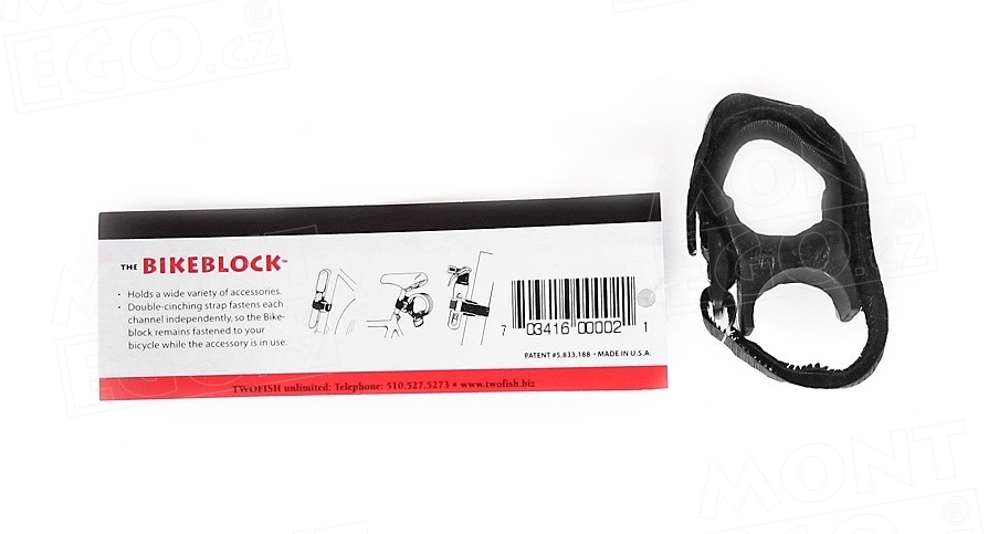 Twofish Bikeblock, univerzální držák svítilny na přilbu