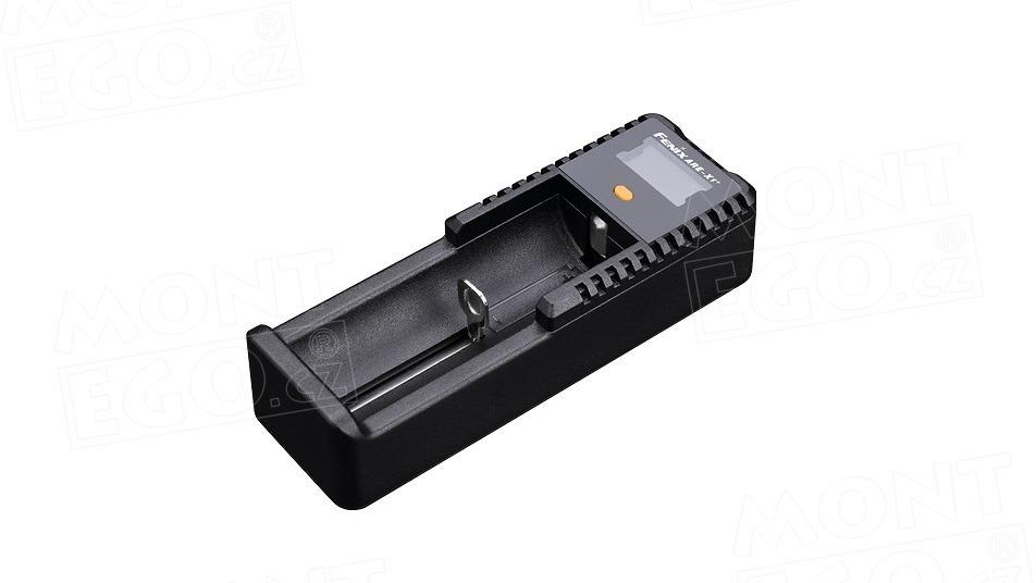 Fenix ARE-X1+ (Li-ion), univerzální USB nabíječka baterií s displejem