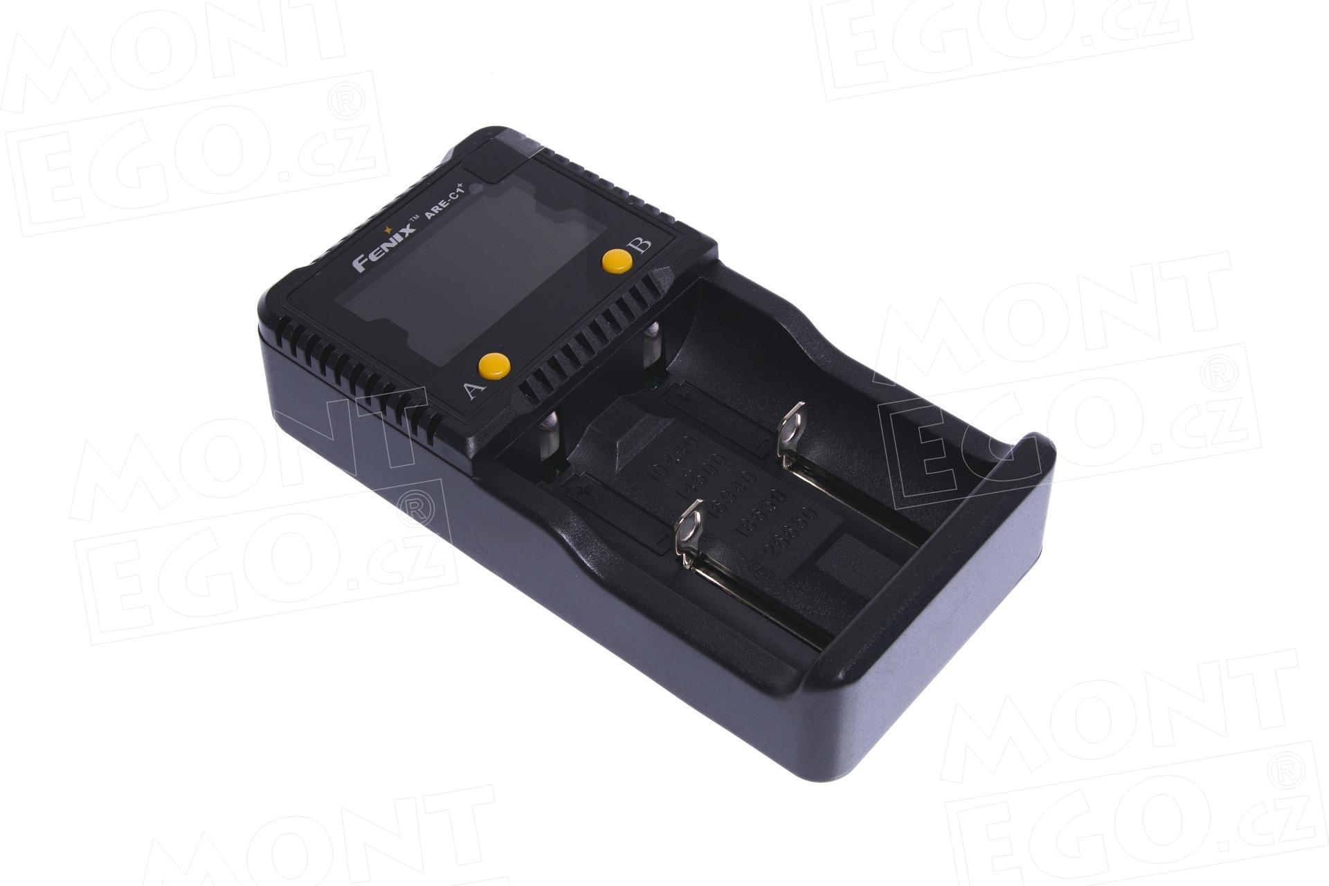 Nabíječka baterií Fenix ARE-C1+, pro 2 baterie (Li-Ion, NiMH, NiCd)