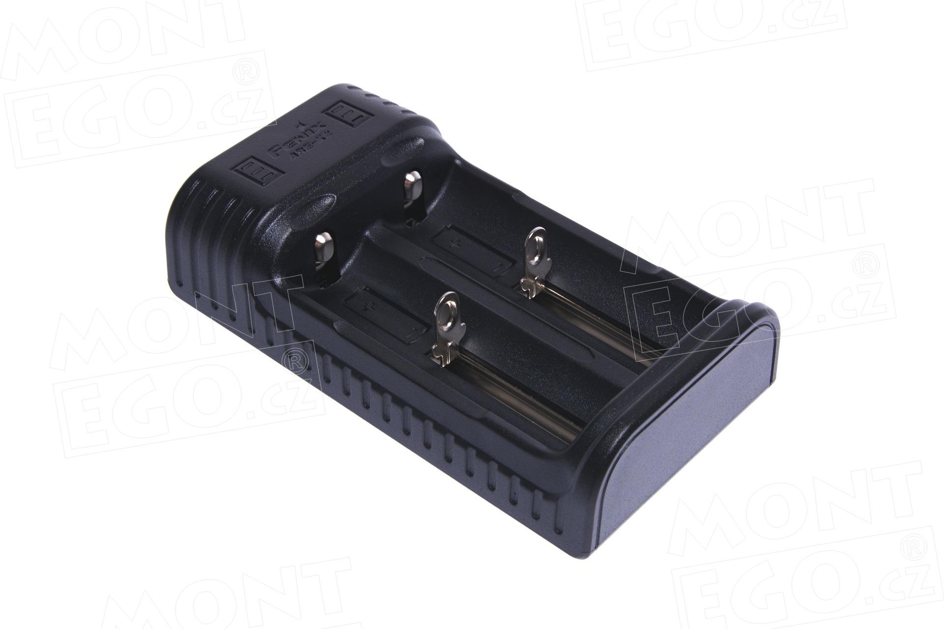 USB nabíječka Fenix ARE-X2 pro Li-ion i NiMH baterie s funkcí power banky