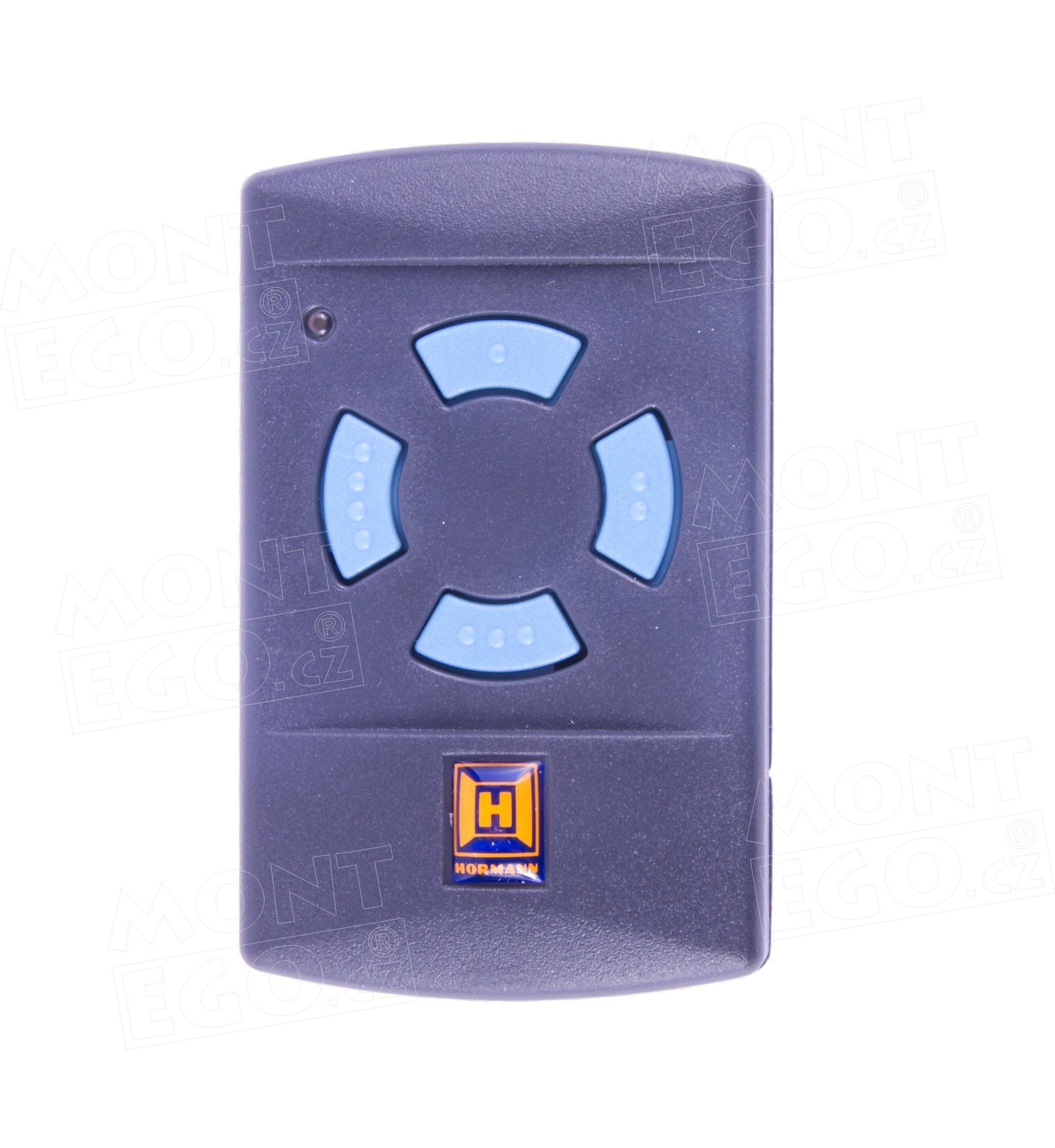 Dálkový ovladač Hörmann HSM4, 4 kanálový ovládač, 868 MHz modrá tlačítka