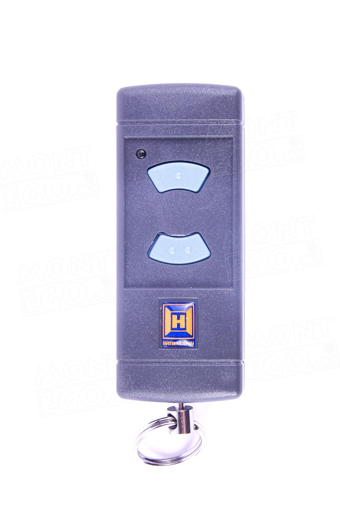 Dálkový ovladač Hörmann HSE2, 2 kanálový ovládač, 868 MHz modrá tlačítka