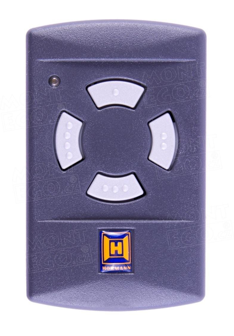 Dálkový ovladač Hörmann HSM4-40, 4 kanálový ovládač, 40,685 MHz šedá tlačítka