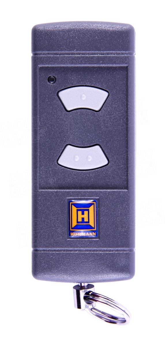 Mini ovladač Hörmann HSE2-40, 2 kanálový ovládač, 40,685 MHz šedá tlačítka