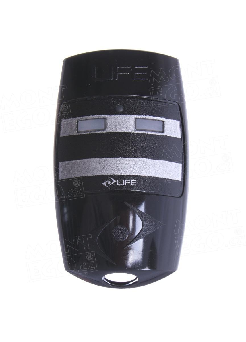Life FIDO2, dálkový ovládač pro pohony bran Life, 433,92 MHz, originál