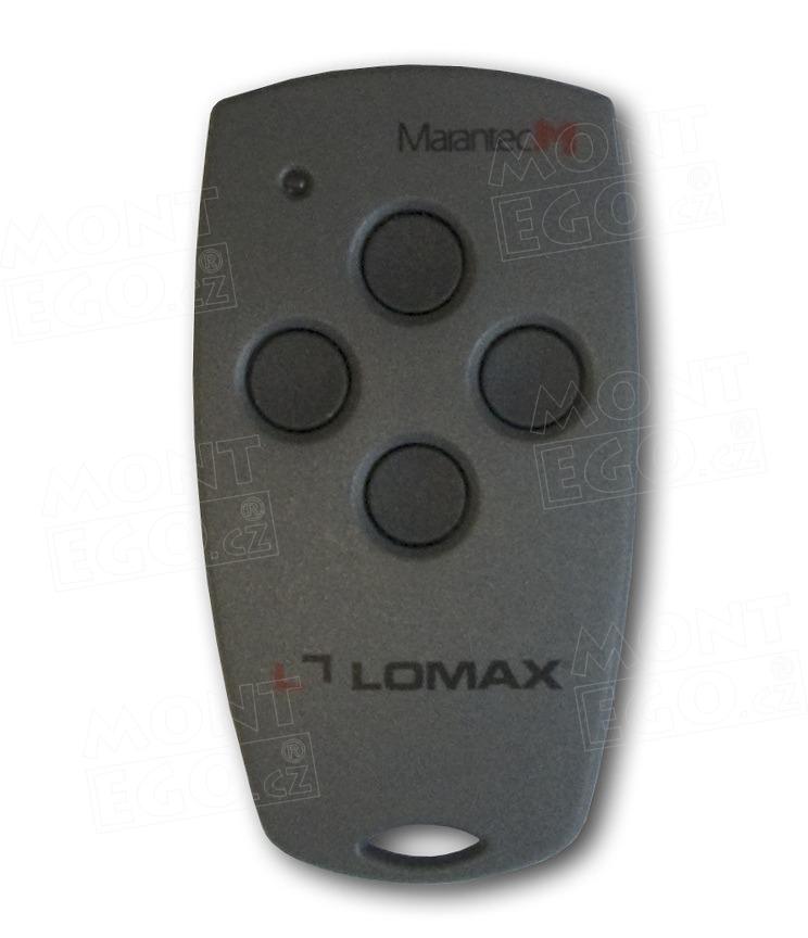 Lomax dálkový ovladač Marantec Digital 304, 4 kanálový ovladač, 433,92 MHz
