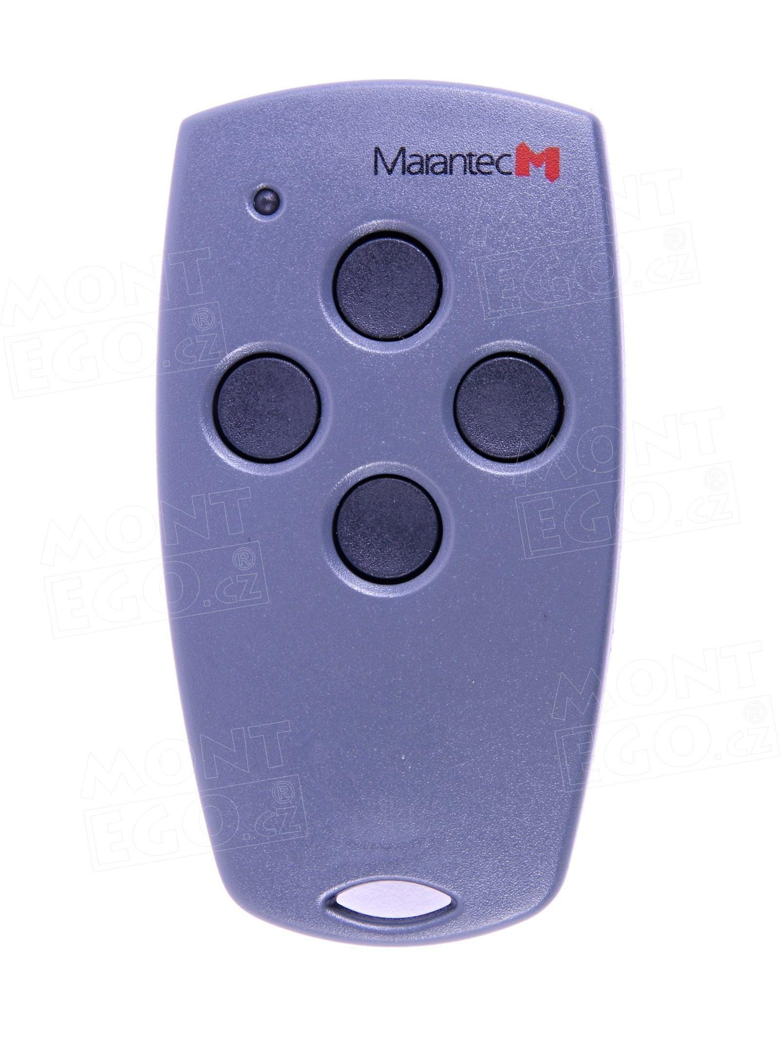 4 tlačítkový dálkový ovladač Marantec Digital 304, 4 kanálový ovladač, 433,92 MHz