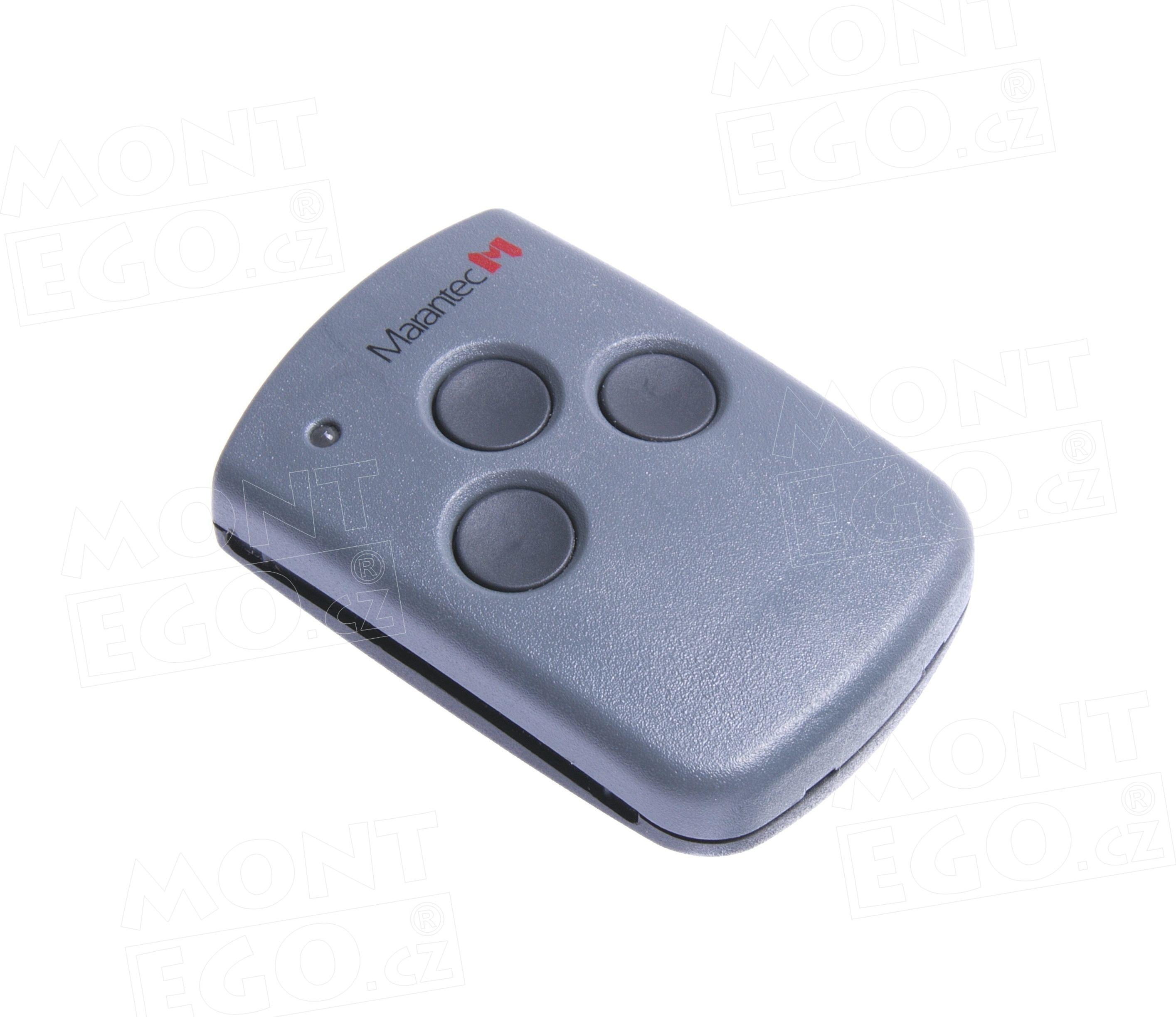 Mini dálkový ovladač Marantec Digital 313, 3 kanálový vysílač , 868,3 MHz