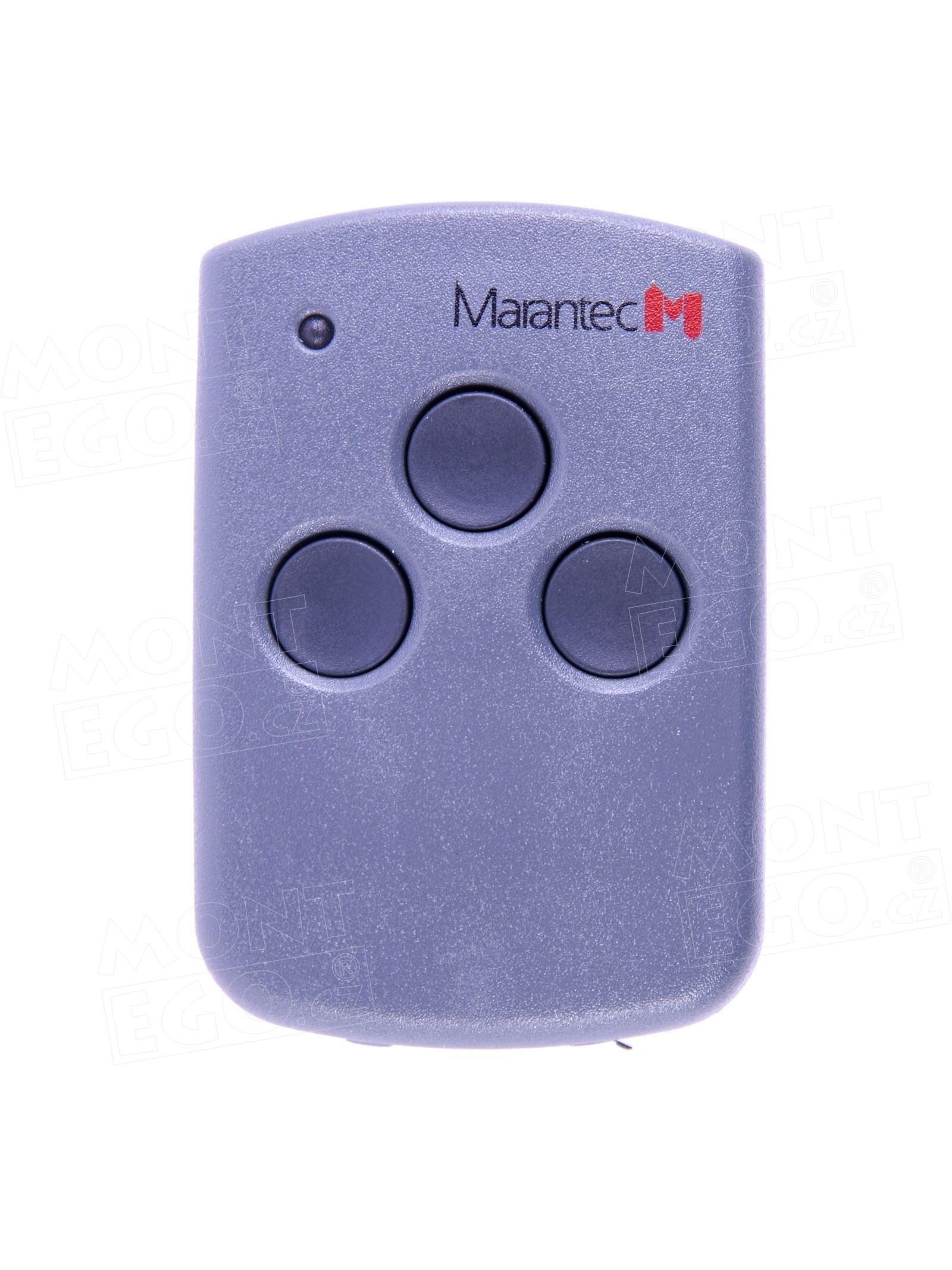 Marantec Digital 313 mini dálkový 3 kanálový ovladač, 433,92 MHz