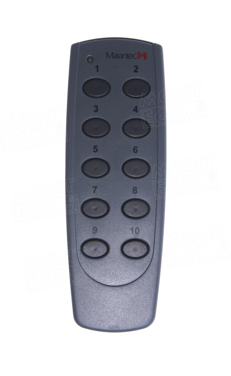 Dálkový ovladač Marantec Digital 306, 10-kanálový, 868,3 MHz