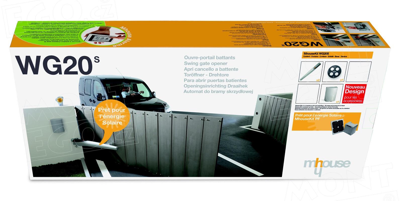 WG20 S pohony pro křídlovou bránu od Mhouse, minisada