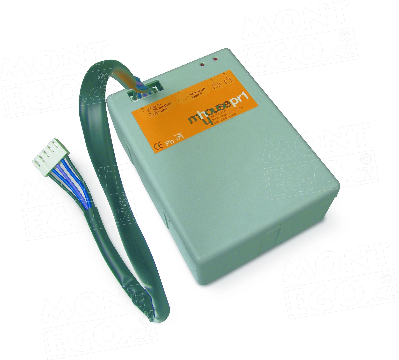 PR1 záložní baterie, akumulátor pro pohony vrat Mhouse