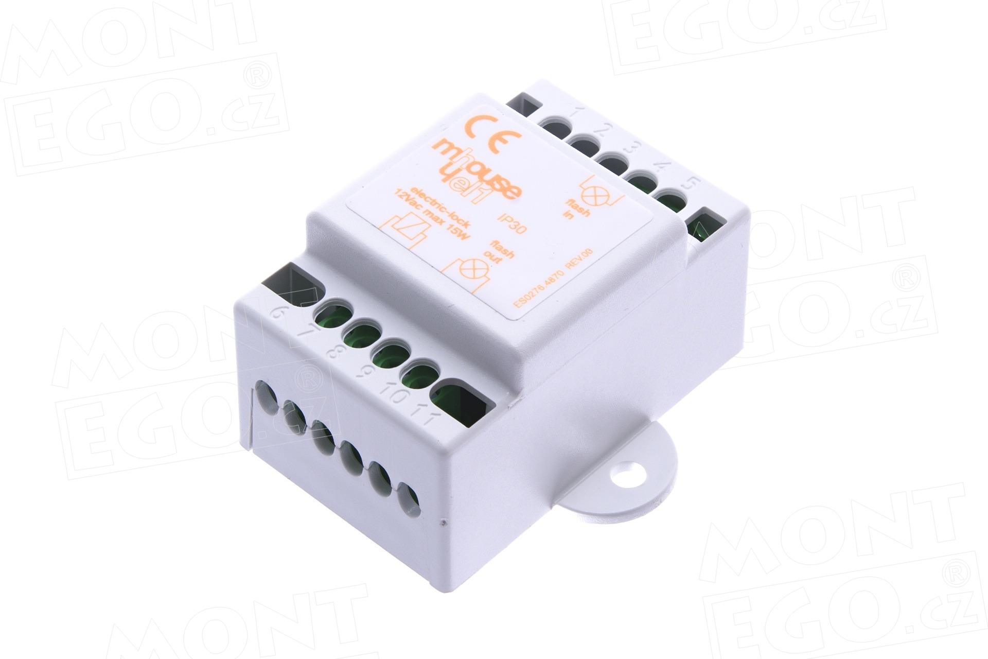 EL1 elektronika pro elektrozámek křídlových bran s pohony Mhouse