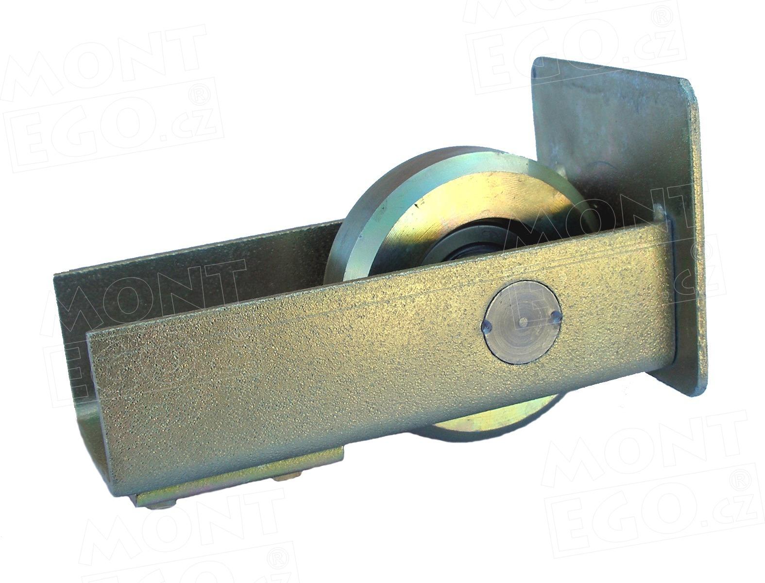 KO80.K - dojezdové kolečko samonosné posuvné brány - zakrytované