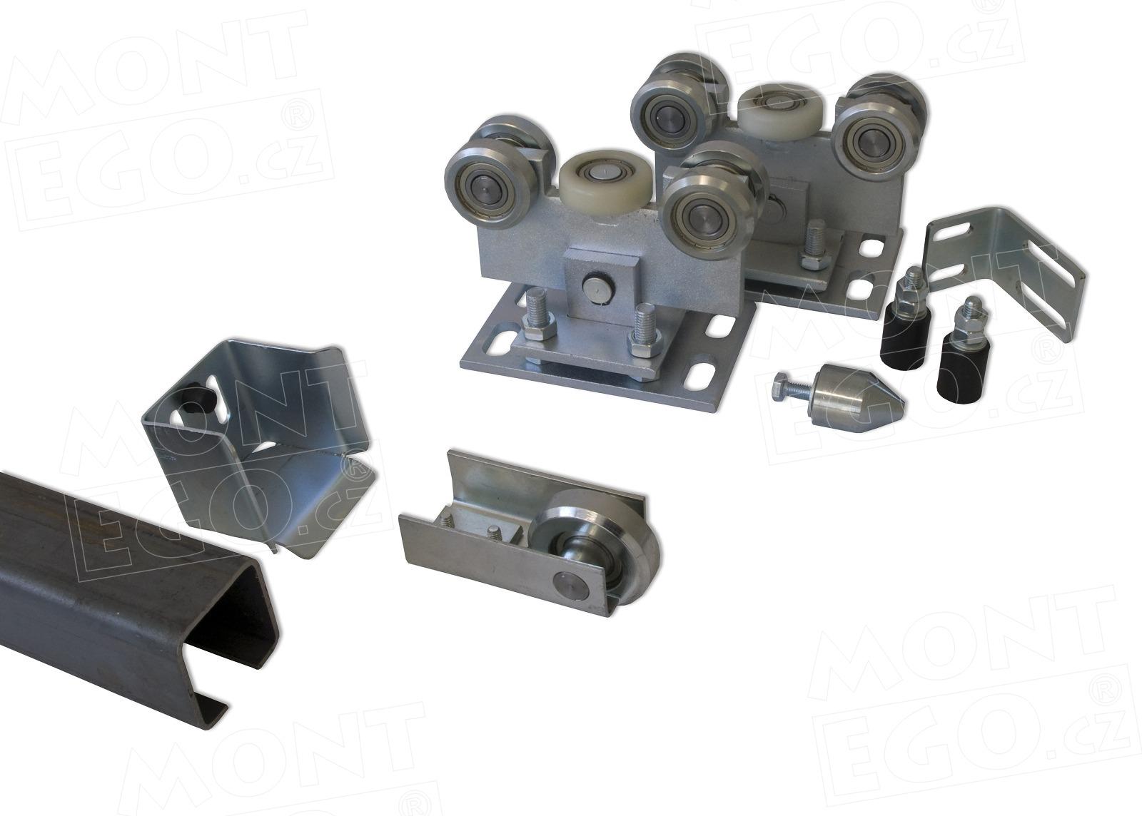 SK70.44 sada komponentů pro posuvnou samonosnou bránu + Doprava zdarma!
