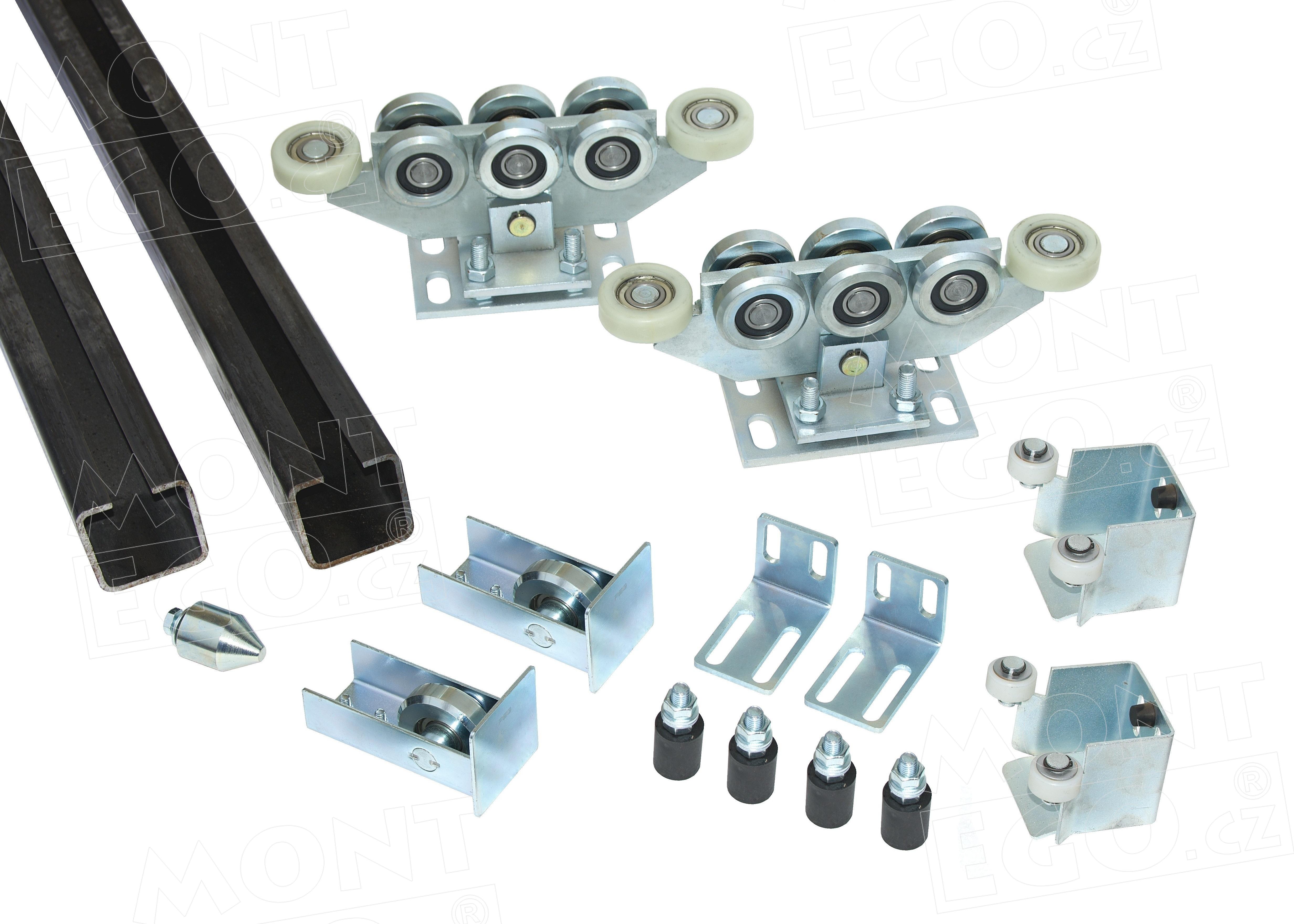 Posílený nosný komplet samonosné posuvné brány SK80.70 PLUS do 7 m