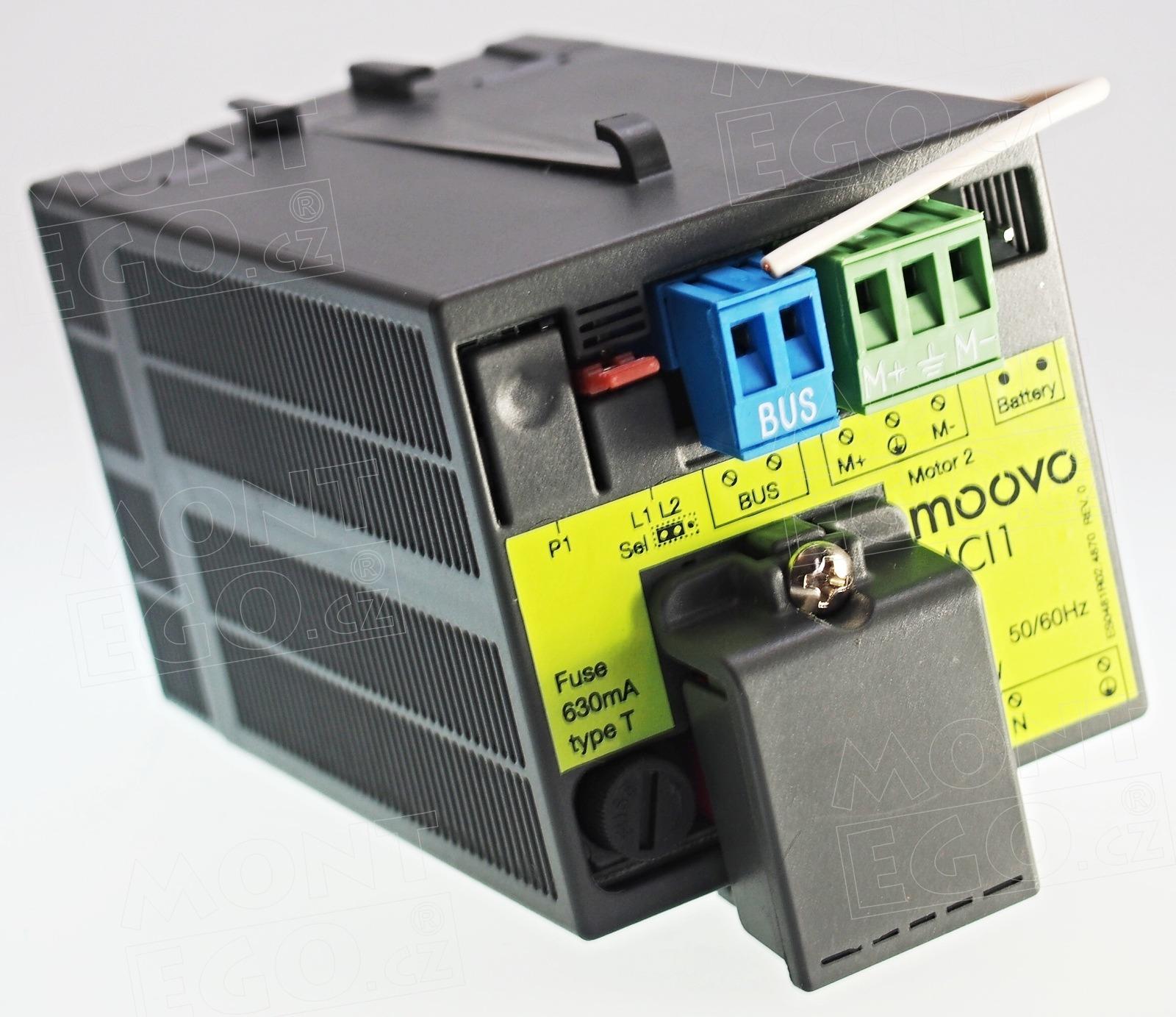 MCI1 náhradní řídící jednotka pro pohony Moovo XW432 a XW532 a LN432