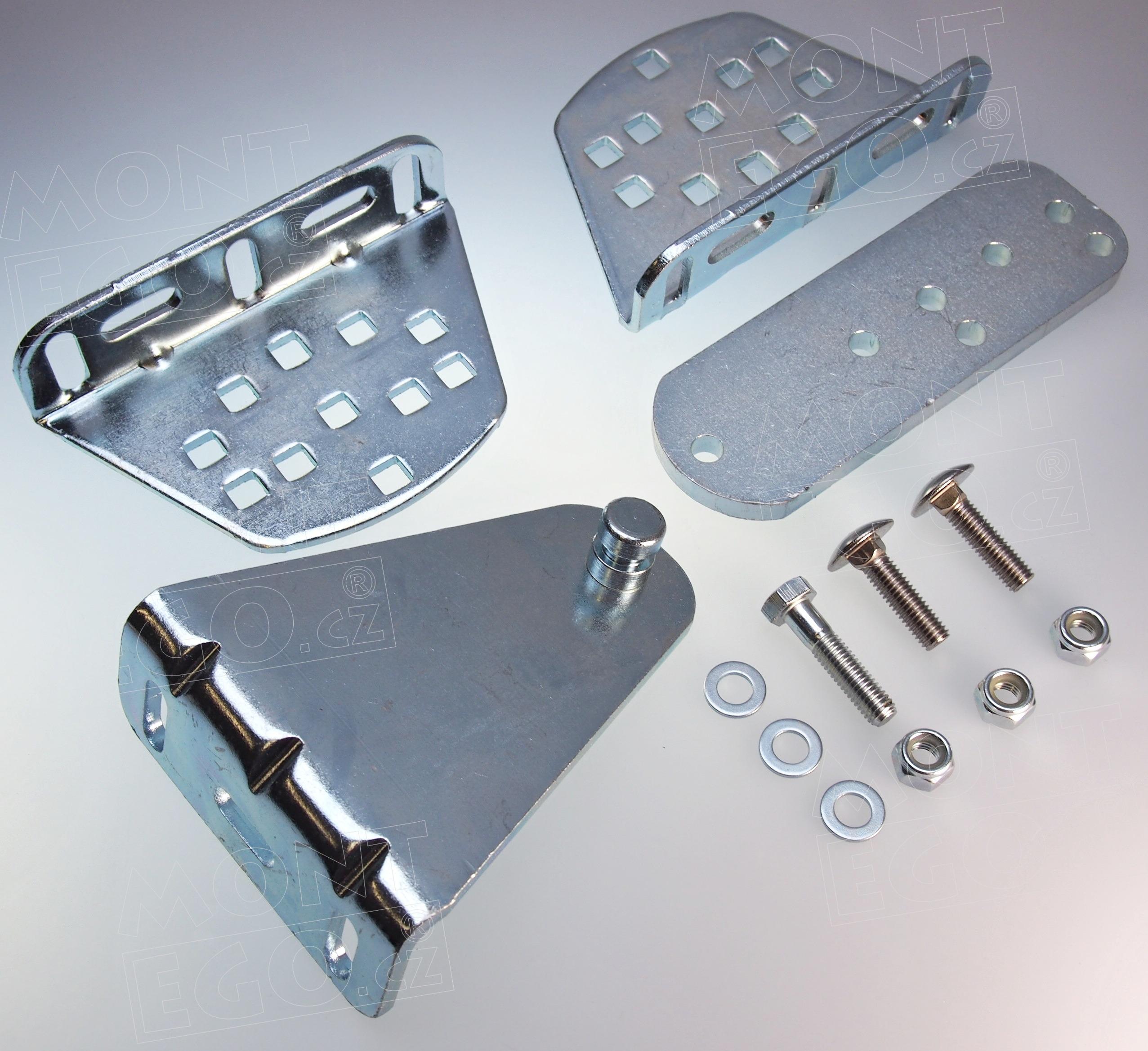 Sada montážních úchytů pro pohony bran Moovo řady XW432 i XW532