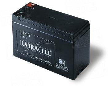 B12-B zálohovací baterie 12 V, 7,2 Ah pro závory WIL4 a WIL6
