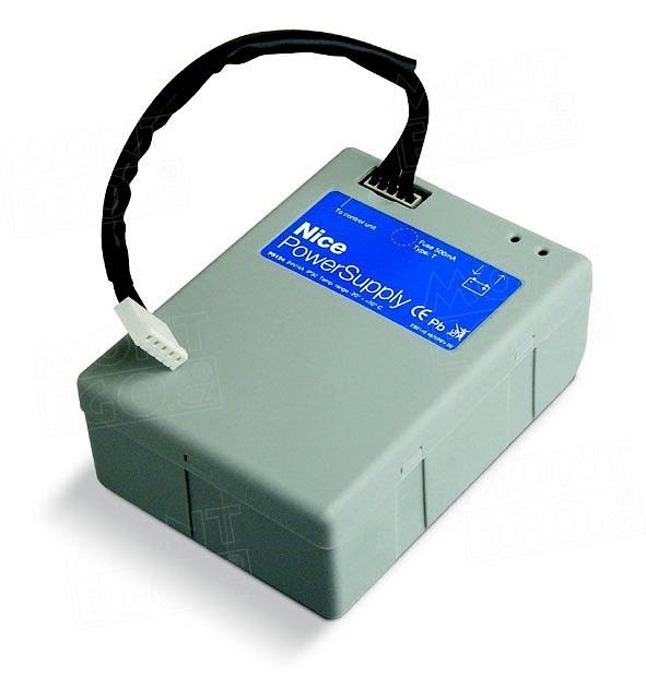 PS124 zálohovací baterie 24 V pro pohony bran a vrat Nice