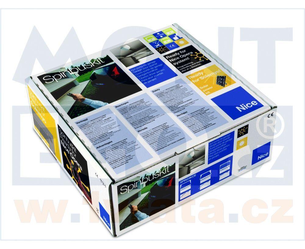 Nice SPIN6041 pohon pro sekční a výklopná garážová vrata 1000N + Doprava zdarma!